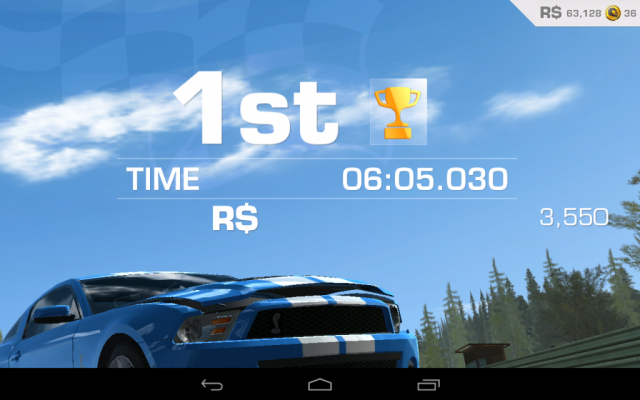 Real Racing 3 - 1st place
