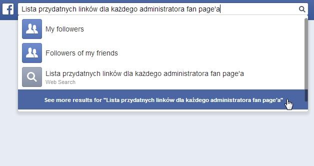 Lista przydatnych linków dla każdego administratora fan page'a