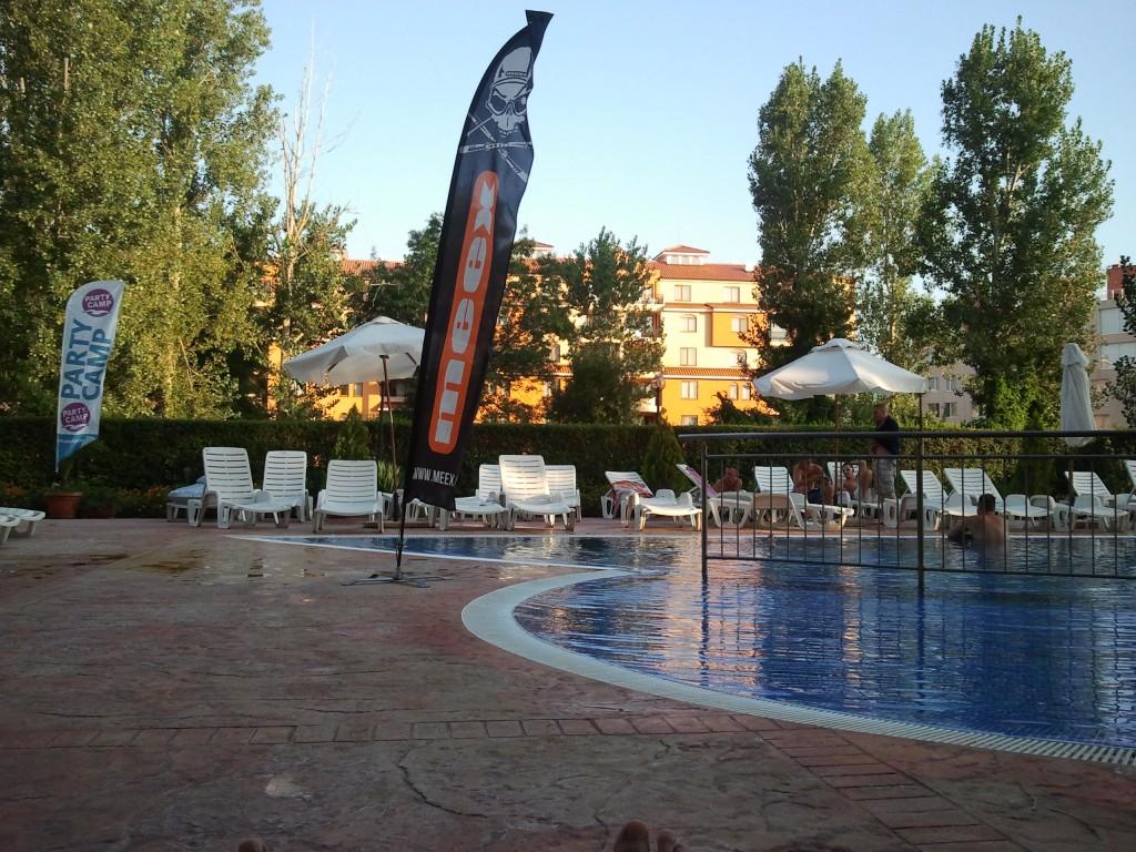 Hotel Happy Słoneczny Brzeg - basen