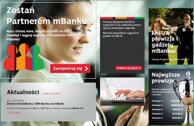 Program Partnerski mBanku