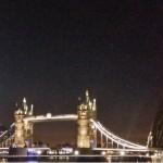 londyn nocą most